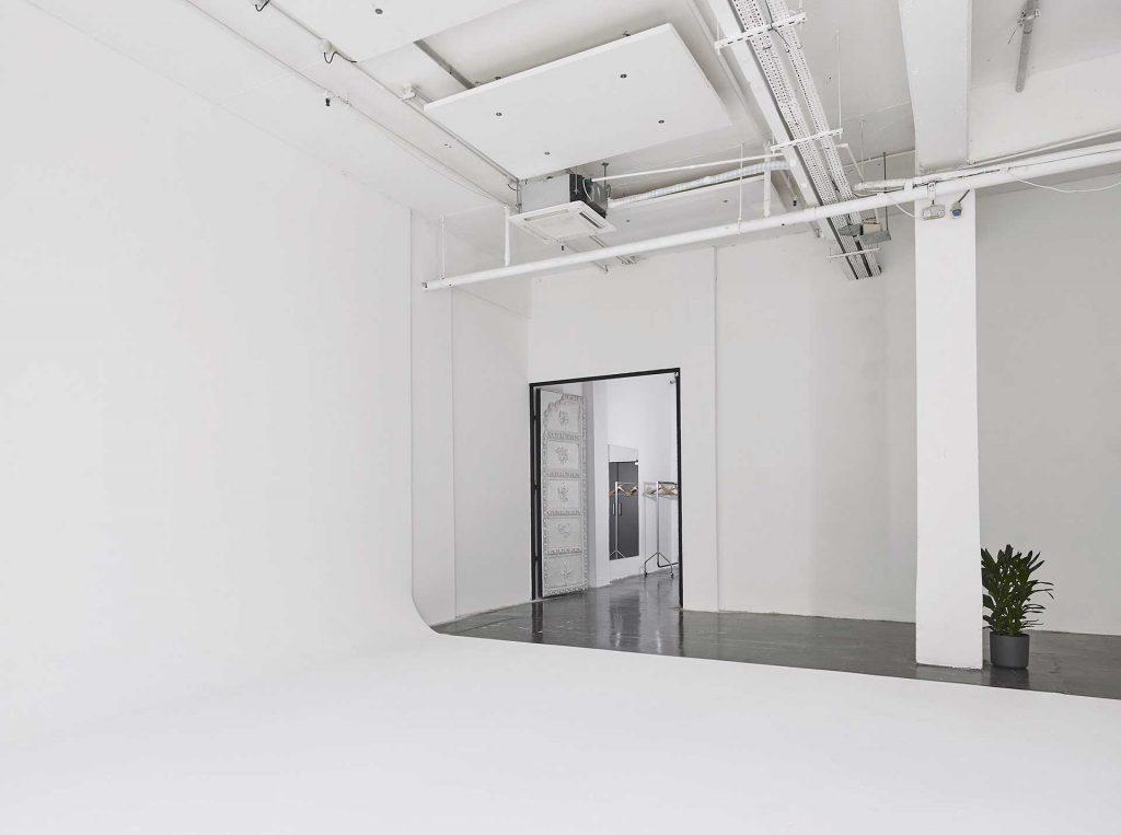Product Launch White studio venue agency